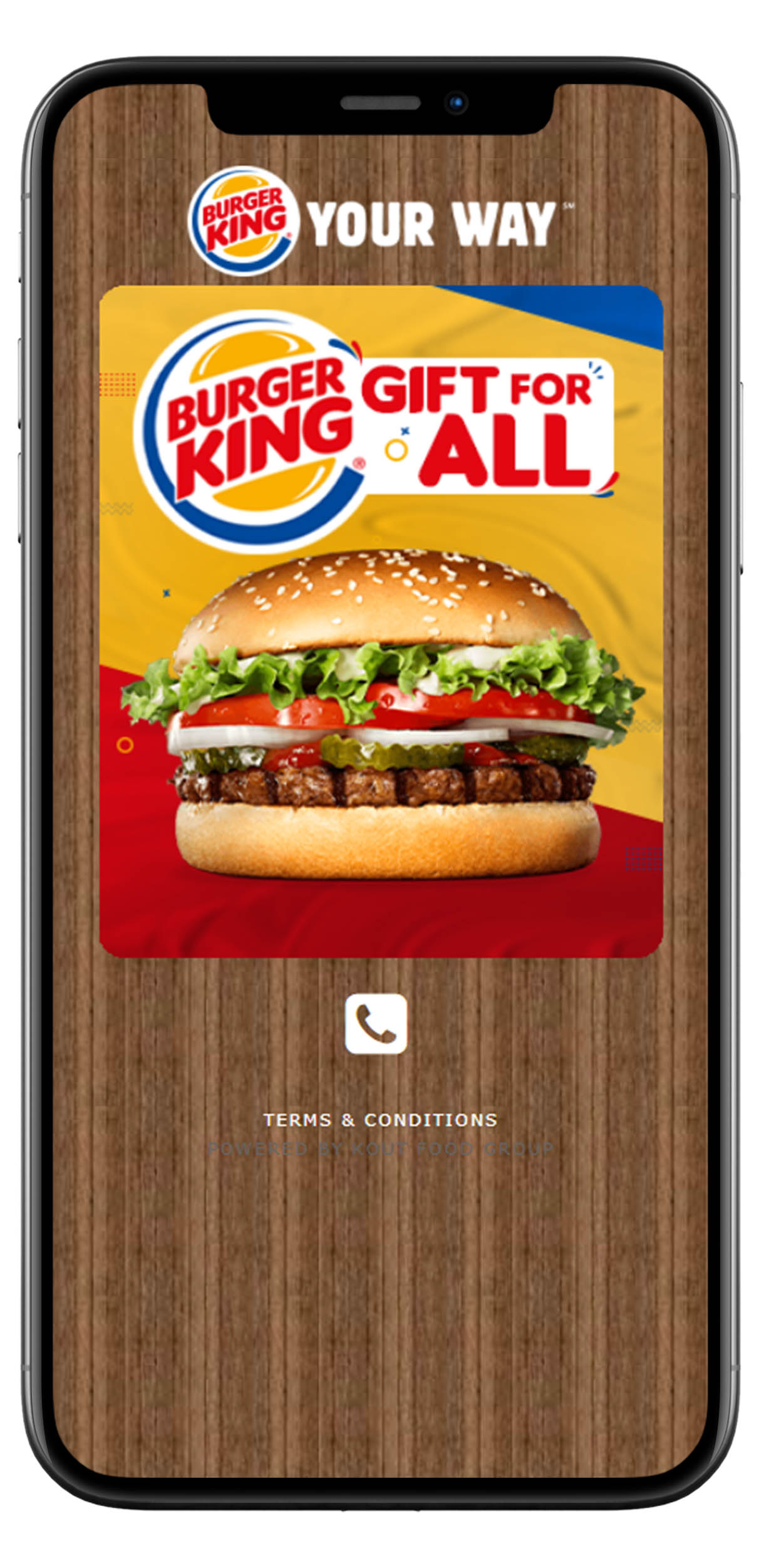 digitale fast-food coupons use case image