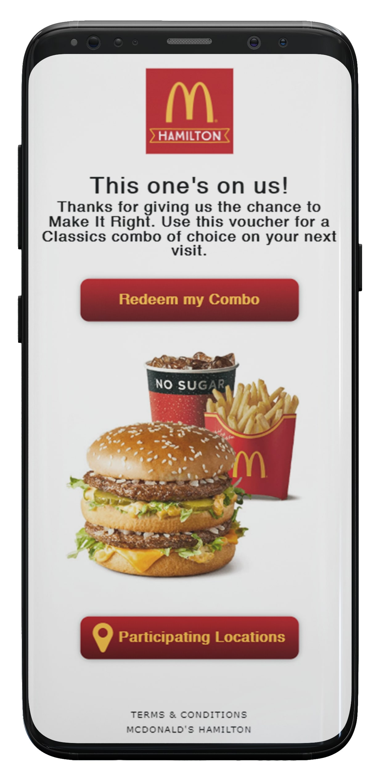 McDonald's Customer Care use case image