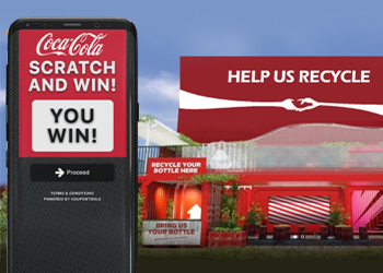 Recycle campaign - Coca Cola ft. Coupontools