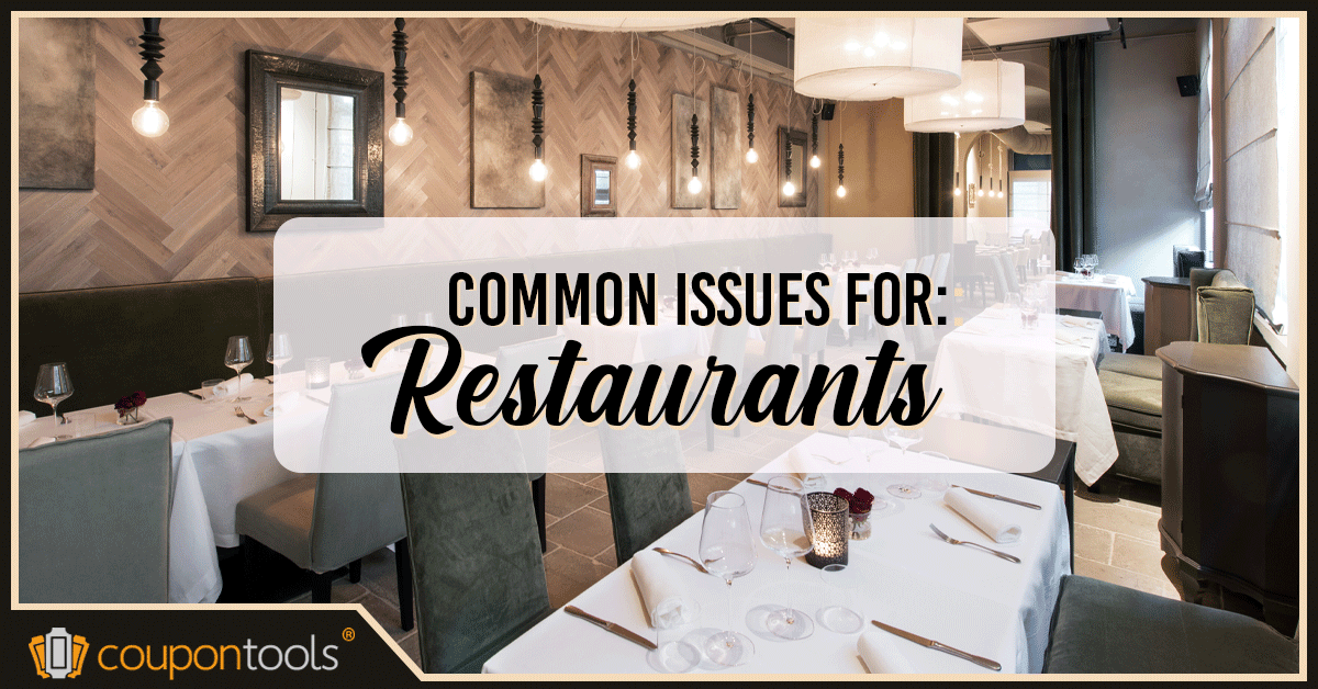 4 issues every restaurant comes across