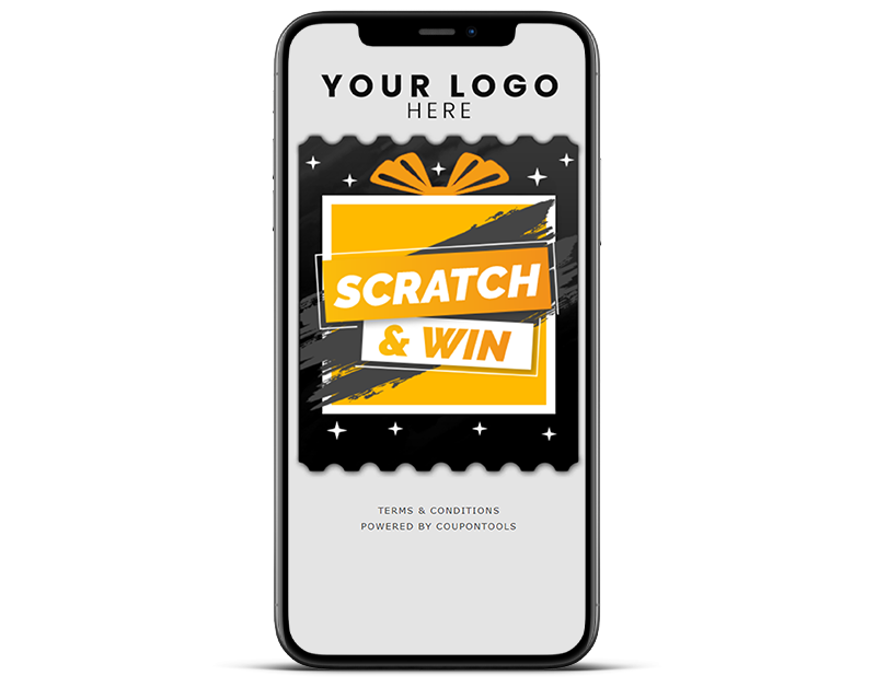 Digital scratch cards to gamify restaurant marketing