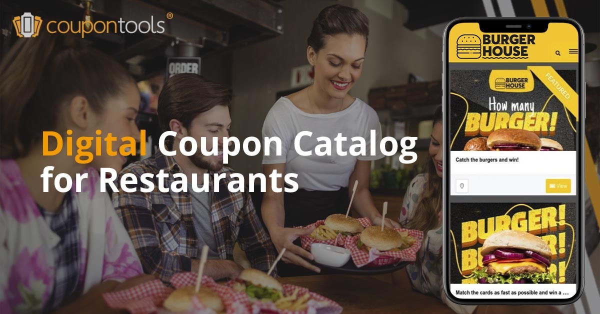 Mobile Coupon Directory for your restaurant