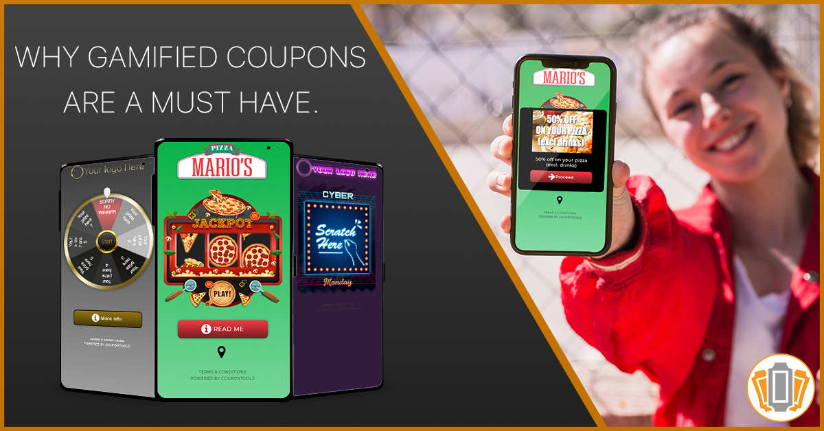 Digital gamified Coupons to trigger conversions