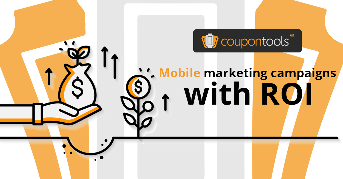 Mobile marketing campaigns with accurate return on investment (ROI) overview
