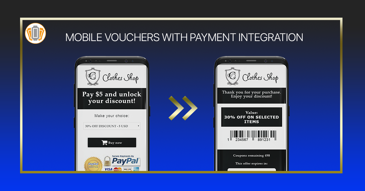 Vouchers with Payment Integration