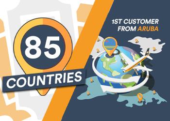 Actief in 85 landen!