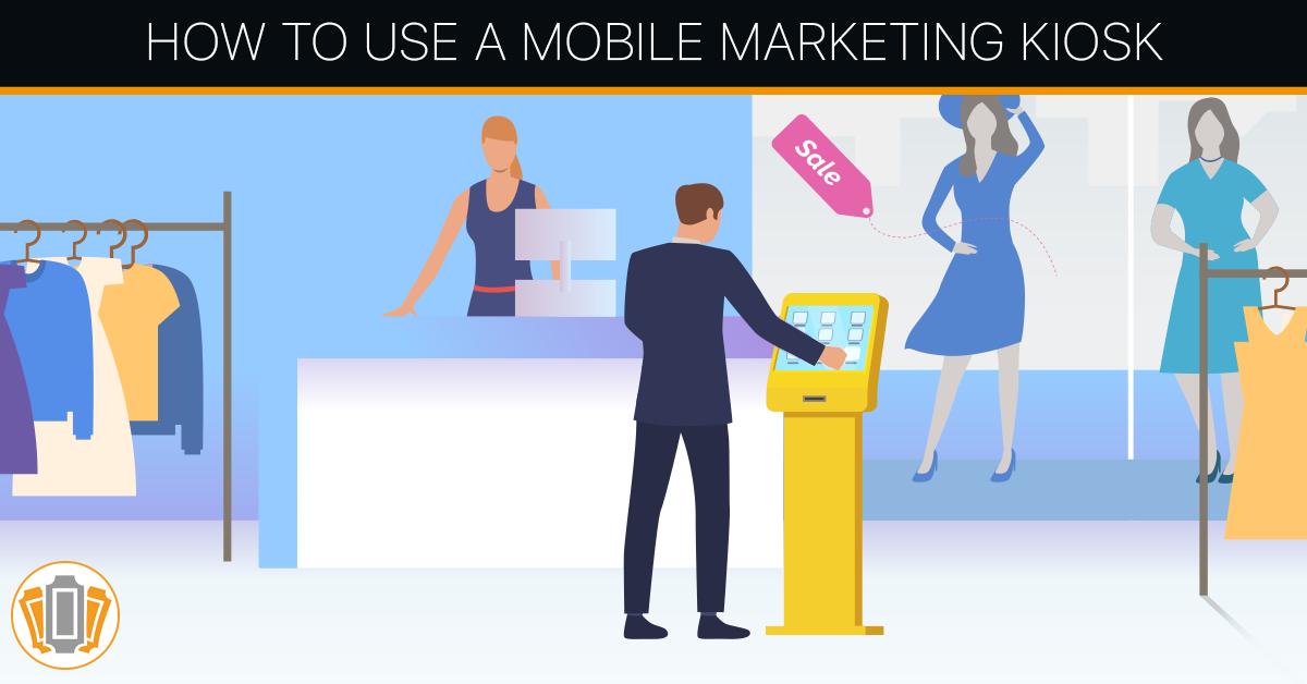 A mobile marketing kiosk and its usage