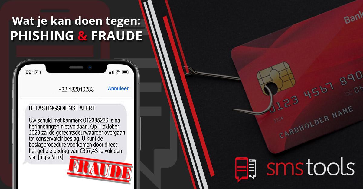Hoe voorkom je phishing en fraude via sms?