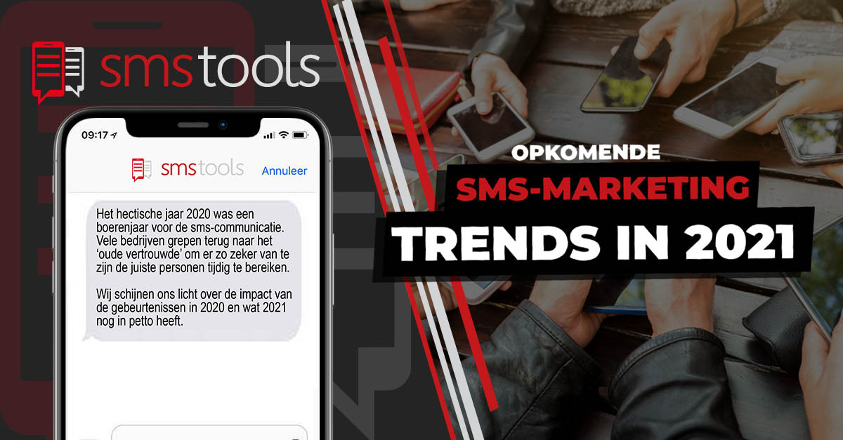 Opkomende trends in sms-marketing en sms-communicatie in 2021