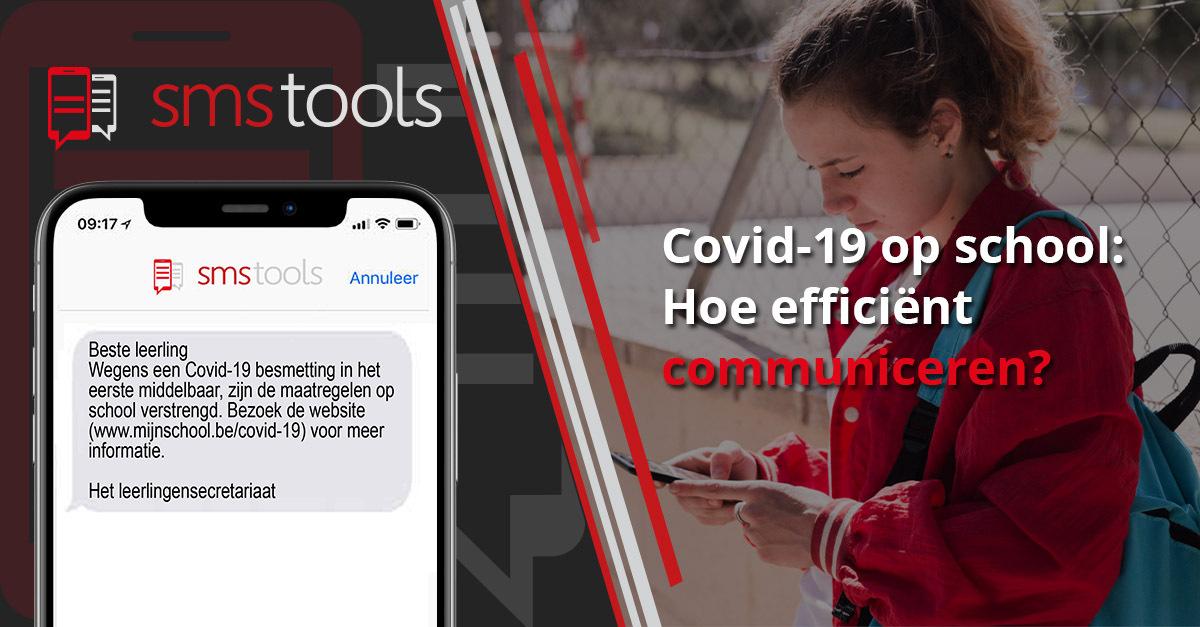 Covid-19 op school: Hoe gebruik ik sms-communicatie het efficiëntst