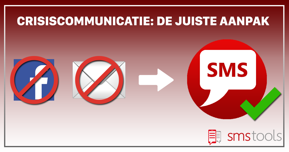 Efficiënte Crisiscommunicatie via SMS in lockdown tijden