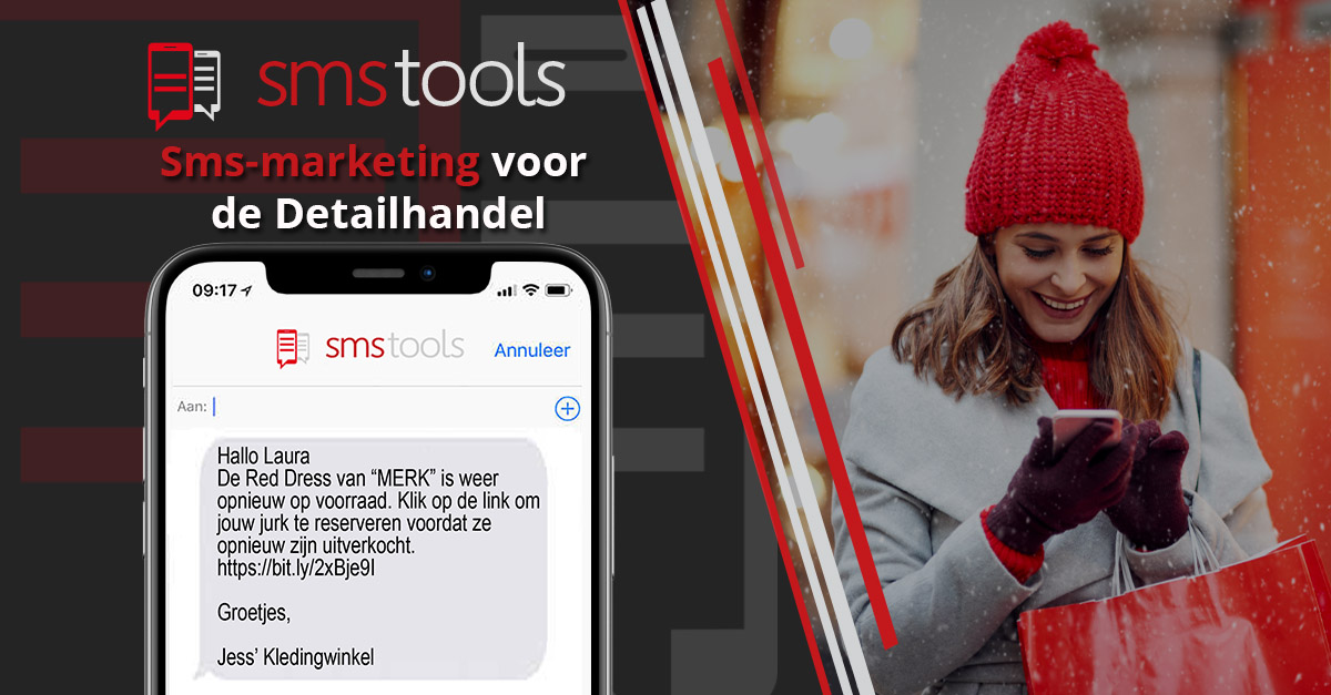 Sms-marketing voor de detailhandel: wat zijn de voordelen?