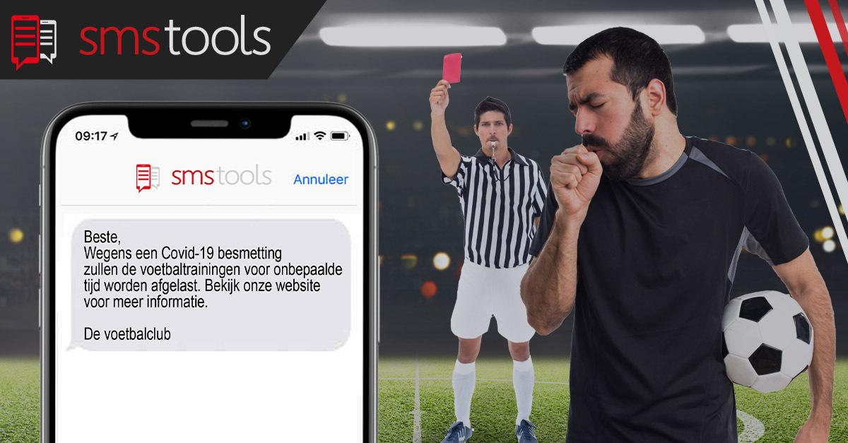Crisiscommunicatie per sms voor sportclubs. Hoe ga je te werk?