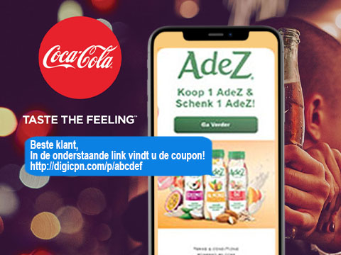 Digitale coupon via SMS