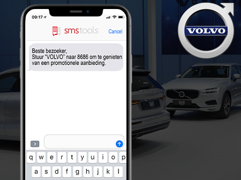 SMS marketing met Shortcode