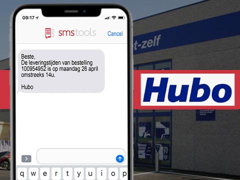 Leveringsinfo via SMS