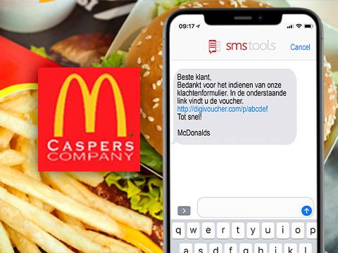 Vouchers per SMS