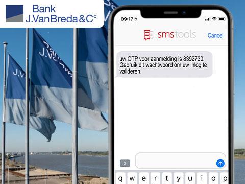 SMS voor 2FA (Tweestapsverificatie)